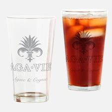 AGA•VIE Logo Drinking Glass