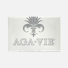 AGA•VIE Logo Rectangle Magnet