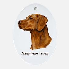 Hungarian Vizsla Ornament (Oval)