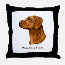Hungarian Vizsla Throw Pillow