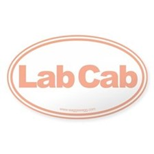 Lab Cab Bumper Stickers