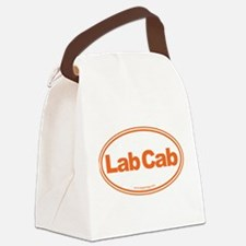 Lab Cab Canvas Lunch Bag