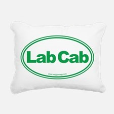 Lab Cab Rectangular Canvas Pillow