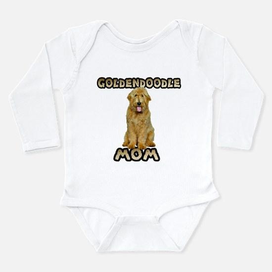 Goldendoodle Mom Long Sleeve Infant Bodysuit