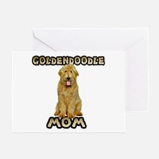 Goldendoodle Mom Greeting Card