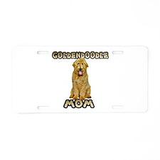 Goldendoodle Mom Aluminum License Plate