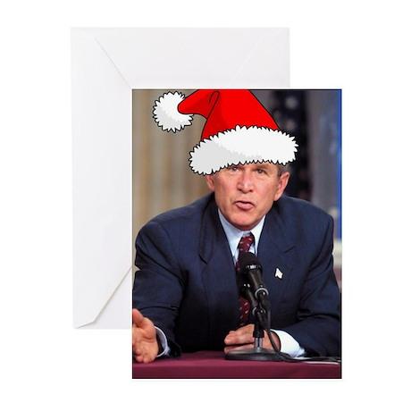 George Bush Christmas Greeting Cards (Pk of 10)