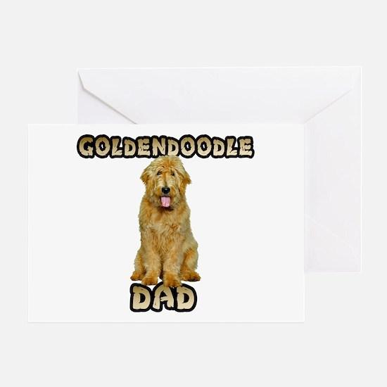 Goldendoodle Dad Greeting Card