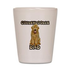 Goldendoodle Dad Shot Glass