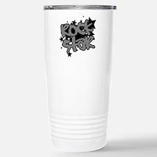 Rock Star Stainless Steel Travel Mug