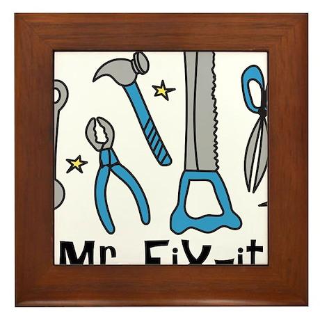 Mr. Fix It Framed Tile