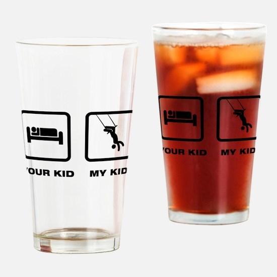 Trapeze Drinking Glass