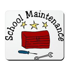 School Maintenance Mousepad