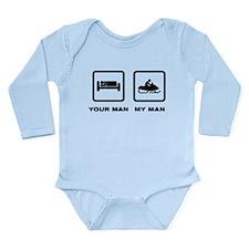 Snowmobile Long Sleeve Infant Bodysuit