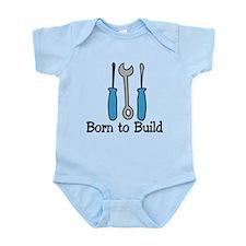 Born To Build Onesie