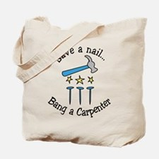 Save A Nail Tote Bag