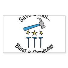 Save A Nail Decal
