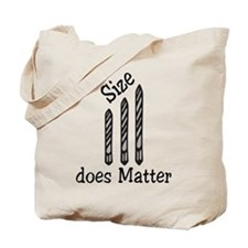 Size Does Matter Tote Bag
