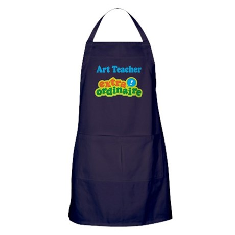 Art Teacher Extraordinaire Apron (dark)