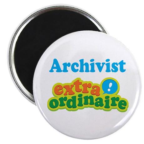 "Archivist Extraordinaire 2.25"" Magnet (10 pack)"