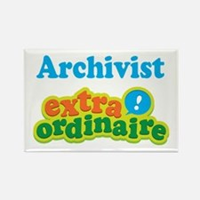 Archivist Extraordinaire Rectangle Magnet