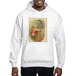 Alice Meets the Caterpillar Hooded Sweatshirt