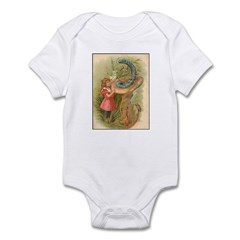 Alice Meets the Caterpillar Infant Bodysuit