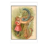 Alice Meets the Caterpillar Postcards (Package of