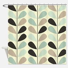 Retro Pattern Shower Curtain