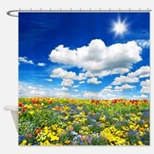 Tulip Meadow Shower Curtain