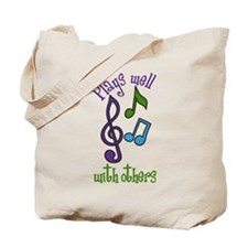 Plays Well Tote Bag