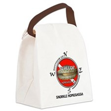 Bottoms UP Canvas Lunch Bag