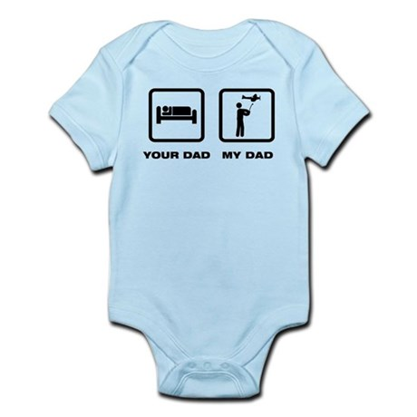 RC Airplane Infant Bodysuit