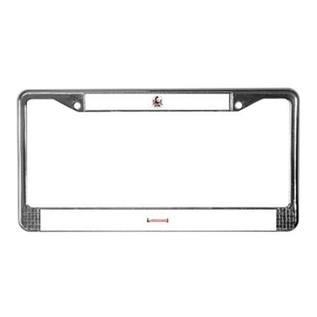 Help Find Ben Campaign Wear License Plate Frame