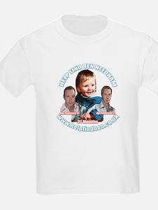 Help Find Ben Campaign Wear T-Shirt