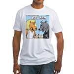 Lion and Wolf Fitted T-Shirt
