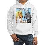 Lion and Wolf Hooded Sweatshirt