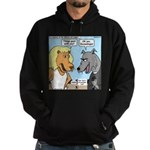 Lion and Wolf Hoodie (dark)