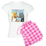 Lion and Wolf Women's Light Pajamas