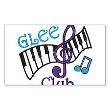 Glee Club Decal