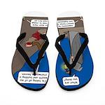 Led Zephaniah Flip Flops