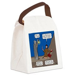 Led Zephaniah Canvas Lunch Bag