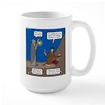 Led Zephaniah Large Mug