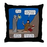 Led Zephaniah Throw Pillow