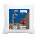 Led Zephaniah Square Canvas Pillow