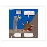 Led Zephaniah Small Poster
