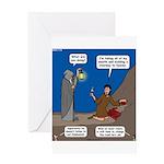 Led Zephaniah Greeting Card