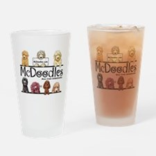 Goldendoodle McDoodles Drinking Glass