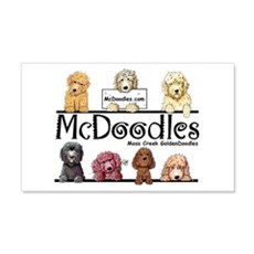 Goldendoodle McDoodles Wall Decal