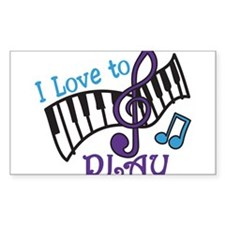 Love To Play Decal